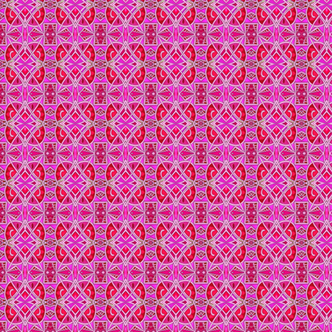 New Years Eve 1928 (small size, pink/magenta) fabric by edsel2084 on Spoonflower - custom fabric