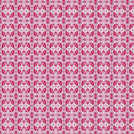 New Years Eve 1928 (red, white, pink, very tiny scale) fabric by edsel2084 on Spoonflower - custom fabric