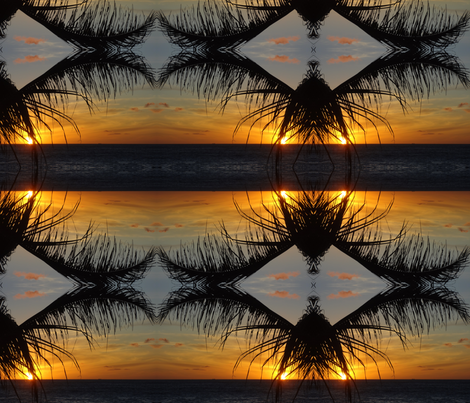 Kona Sunset fabric by efabrics on Spoonflower - custom fabric
