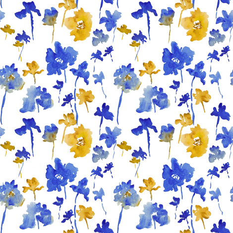 Katy Print fabric by susan_magdangal on Spoonflower - custom fabric