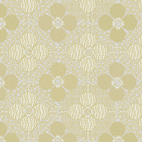 netted_and_knotted_silver_gold fabric by glimmericks on Spoonflower - custom fabric