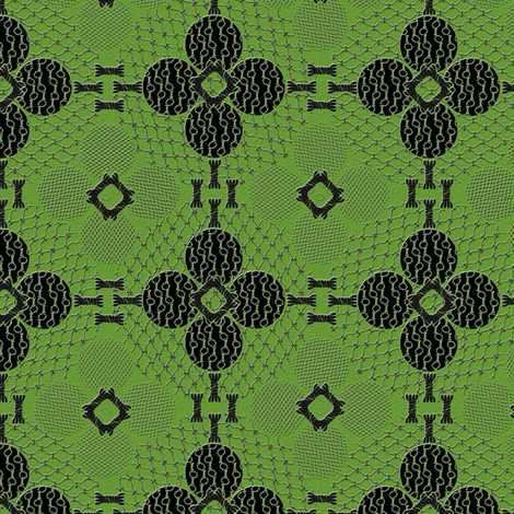 netted_and_knotted_china_green fabric by glimmericks on Spoonflower - custom fabric