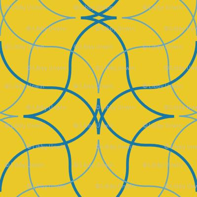 Trattoria -- yellow/blues