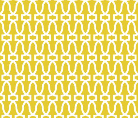 Antichità -- gold/white fabric by libbyunwin on Spoonflower - custom fabric