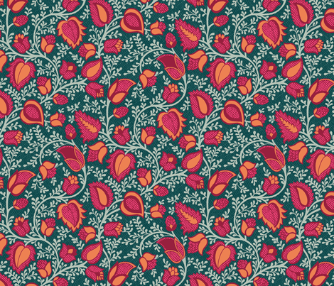 boubou3a fabric by ginger&cardamôme on Spoonflower - custom fabric