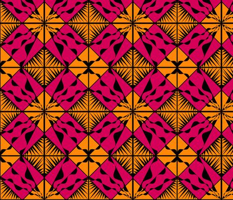 Desert Wind & Fire fabric by reen_walker on Spoonflower - custom fabric