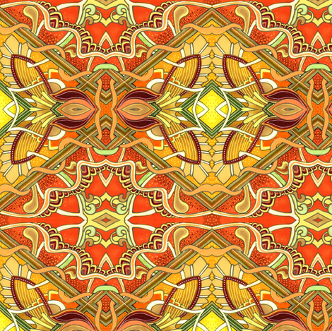 Patching Things Up fabric by edsel2084 on Spoonflower - custom fabric