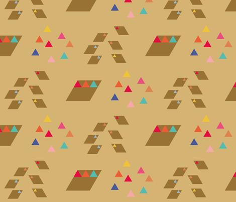 terre mere | wolf fabric by studiojelien on Spoonflower - custom fabric