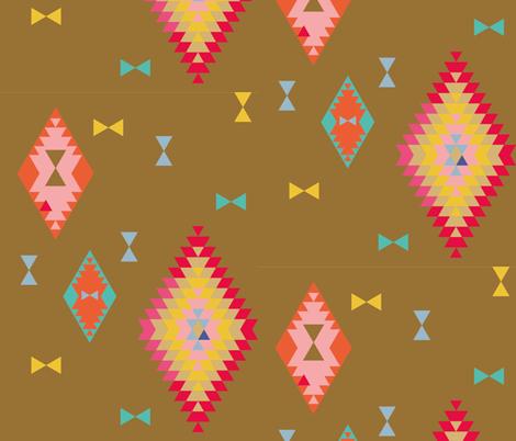 terre mere | kites fabric by studiojelien on Spoonflower - custom fabric