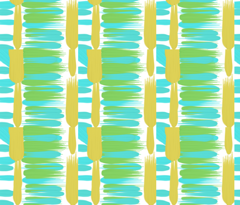 fun with blue and green fabric by loveisallaround on Spoonflower - custom fabric