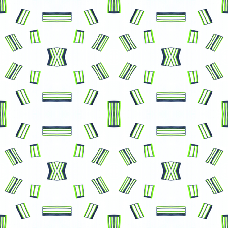 Lime Green Abstract fabric by empireruhl on Spoonflower - custom fabric
