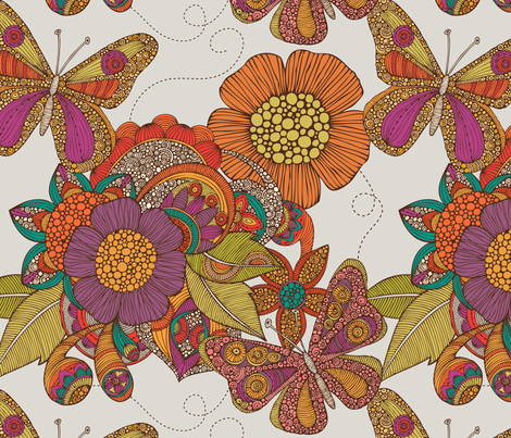 Butterfly Fantasy  fabric by valentinaharper on Spoonflower - custom fabric