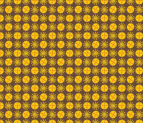 Spiny Fruit fabric by amandamaypolson on Spoonflower - custom fabric