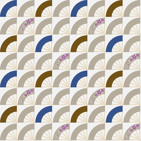 Kikyo fabric by siya on Spoonflower - custom fabric