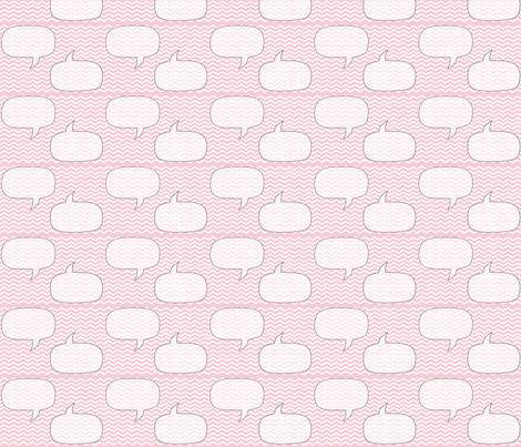 pink chevron bubble fabric by sofsdesigns on Spoonflower - custom fabric
