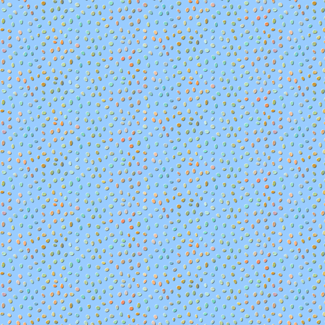 sketch_texture_dots_sky fabric by glimmericks on Spoonflower - custom fabric