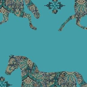 Morroccan Paisley Horse