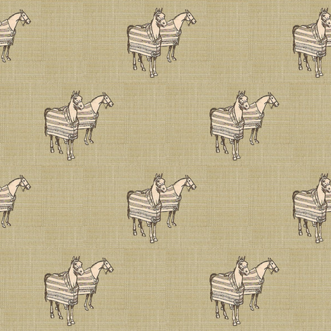 Cozy Cobs on Linen fabric by ragan on Spoonflower - custom fabric