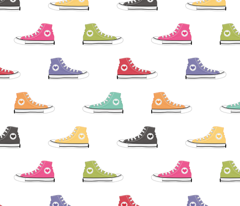 RB_Canvas_Shoes_Fabric fabric by uprintables on Spoonflower - custom fabric