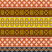 mudcloth spoonflower story : earth tones