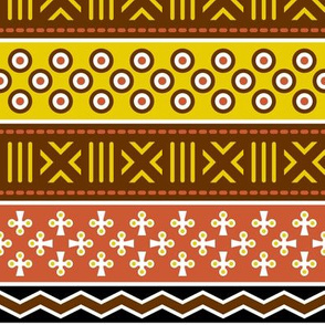 01796455 : mudcloth spoonflower story : earth tones