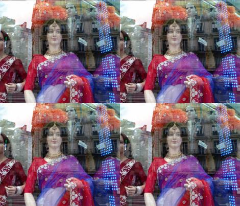 Sari Shop, Paris fabric by susaninparis on Spoonflower - custom fabric