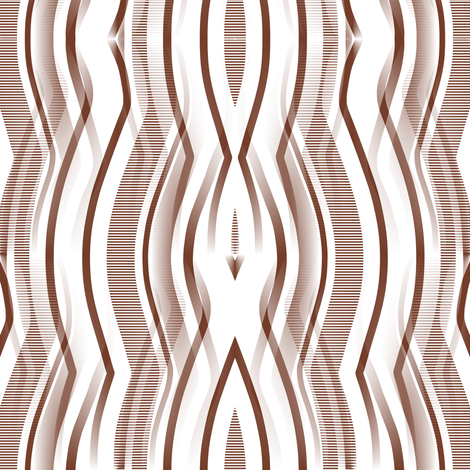 Drip Falls - Brown fabric by telden on Spoonflower - custom fabric