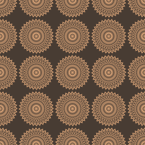 Grandma Neo - Dark Two-tone fabric by telden on Spoonflower - custom fabric