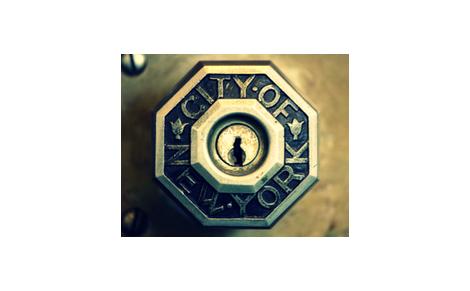 City Doorknob 1 fabric by relative_of_otis on Spoonflower - custom fabric