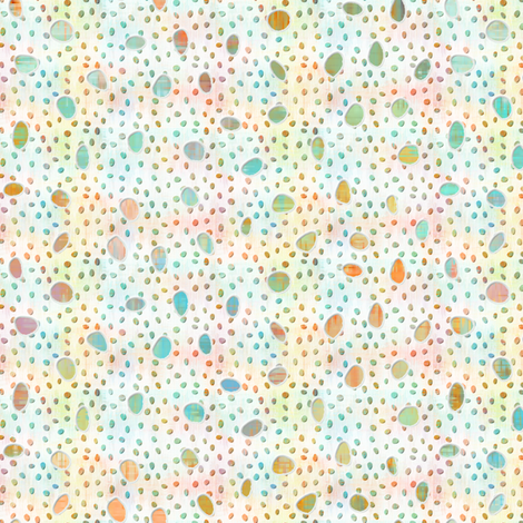 sketch_texture_painted_ikat_cutout_dots fabric by glimmericks on Spoonflower - custom fabric