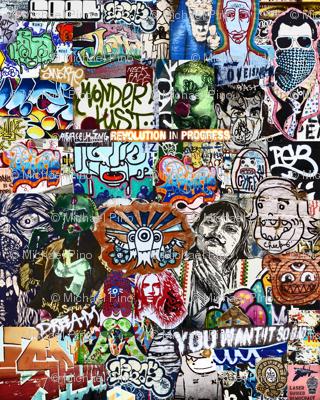 Dream Graffiti Collage