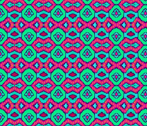 african romboid  fabric by katarina on Spoonflower - custom fabric