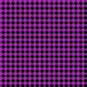 black purple houndstooth