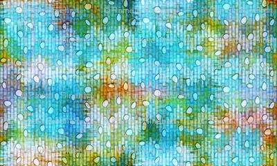sketch_texture_ikat_burnout_dots blue