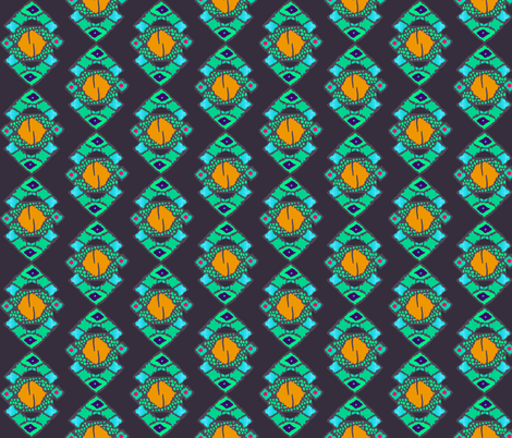 afro coordinate fabric by katarina on Spoonflower - custom fabric