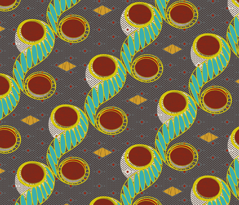 Africana fabric by darcibeth on Spoonflower - custom fabric