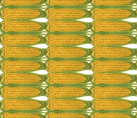 corn_stripe_vertical fabric by lfntextiles on Spoonflower - custom fabric