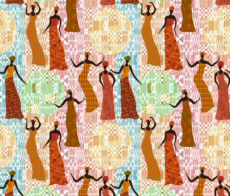 Strong fabric by vo_aka_virginiao on Spoonflower - custom fabric