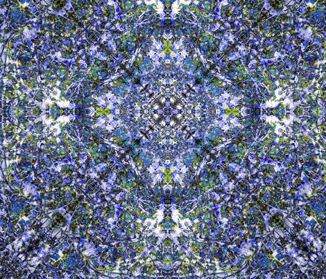 """Blue Chintz"" fabric by jeanfogelberg on Spoonflower - custom fabric"