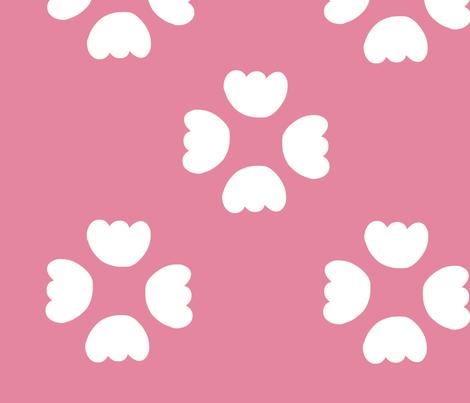 buds - pink fabric by studio_ggc on Spoonflower - custom fabric