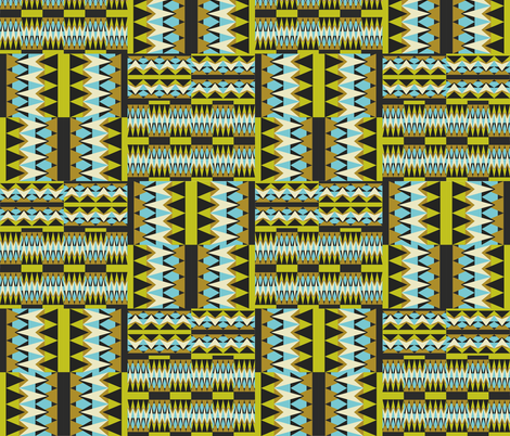 African Inspired - Miranda Mol fabric by mirandamol on Spoonflower - custom fabric