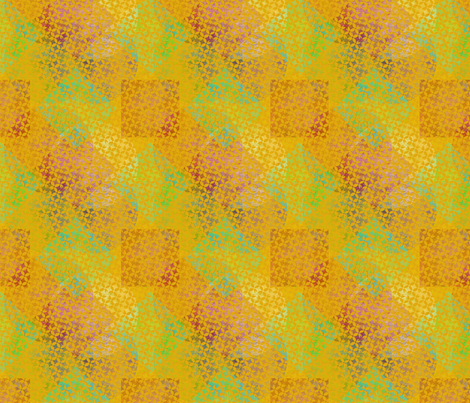 Inspired by India - Fresh Day fabric by glimmericks on Spoonflower - custom fabric