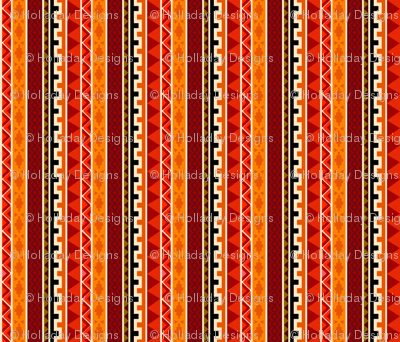 African Tafari Tribal Pattern