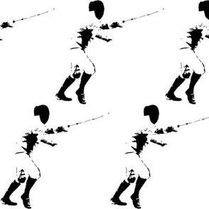 Allez! The Fencer