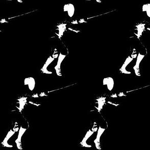 Allez! The Fencer, Black