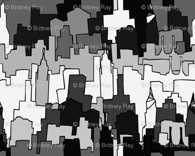 Monochromatic City
