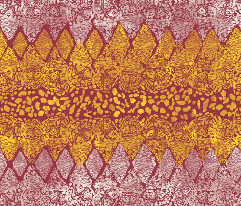 Carrion Crocodile fabric by spoonnan on Spoonflower - custom fabric