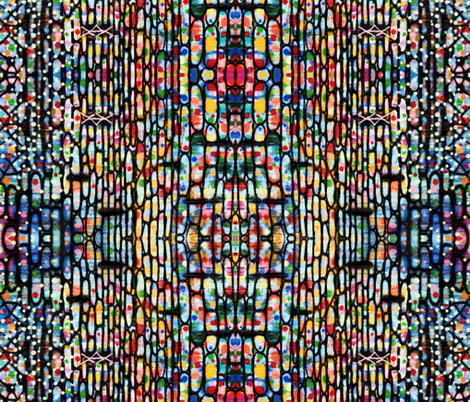Jelly Beans fabric by mikep on Spoonflower - custom fabric