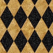 Rharlequin_diamonds___black_and_antique_gold_mosaic_ii_f__peacoquette_designs___copyright_2016_shop_thumb