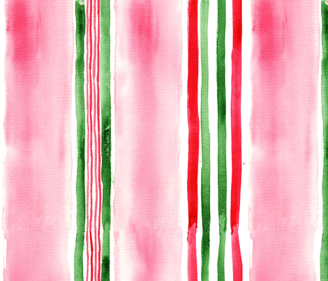 antoinette_rayure1_L fabric by nadja_petremand on Spoonflower - custom fabric